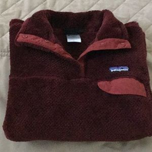 Excellent Patagonia Re-Tool Burgundy color